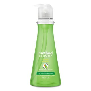 Method Dish Soap Cucumber 18-ounce Pump Bottle 6/Carton
