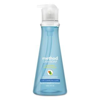 Method Dish Soap Sea Minerals 18-ounce Pump Bottle 6/Carton