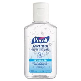 PURELL Advanced Instant Hand Sanitizer Gel, Jelly Wrap Bracelet 1 oz Bottle, 36/Case