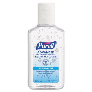 PURELL Advanced Instant Hand Sanitizer Gel 1-ounce Bottle Lemon Scent 250/Case