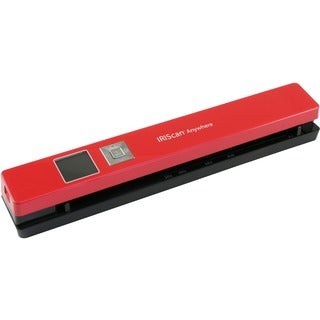 IRIS Iriscan Anywhere 5-Red Portable Document And Photo Scanner