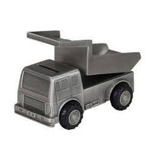 Elegance Pewter Plated Mining Truck Bank