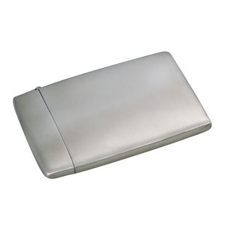 Elegance Brushed Card Case
