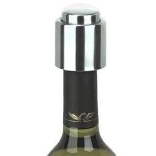 Elegance Brushed Stainless Steel Wine Stopper