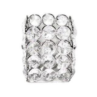 Elegance Sparkle Crystal Square Tealight Holder
