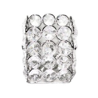 Heim Concept Sparkle Crystal Square Tealight Holder