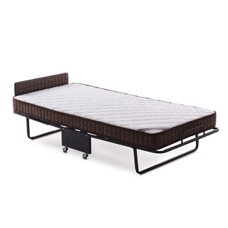 Holiday Folding Roll-Away Guest Bed with 5.5-Inch Twin Mattress