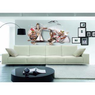 Full color Ocean ship sticker,Ocean Ocean ship, ship wall art decal Sticker Decal size 33x45