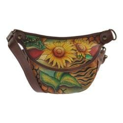 Women's Anuschka Small Convertible Waist/Shoulder Bag Sunflower Safari