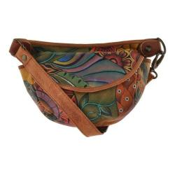 Women's Anuschka Small Convertible Waist/Shoulder Bag Patchwork Garden