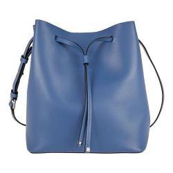 Women's Lodis Blair Gail Medium Drawstring Handbag Black/Taupe