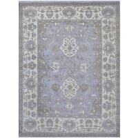 Herat Oriental Indo Hand-knotted Tribal Oushak Wool Rug (9'4 x 12'1)