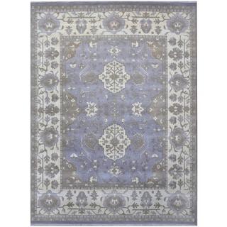 Handmade Oushak Wool Rug (India) - 9'4 x 12'