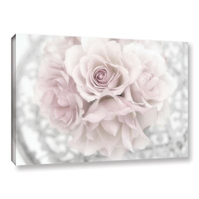 Cora Niele's ' White Roses' Gallery Wrapped Canvas
