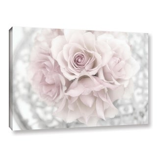 Link to Cora Niele's ' White Roses' Gallery Wrapped Canvas Similar Items in Canvas Art