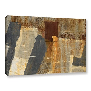 Cora Niele's ' Rusty Graffiti 1' Gallery Wrapped Canvas