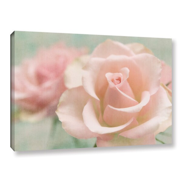 Cora Niele's ' Rose Pink' Gallery Wrapped Canvas