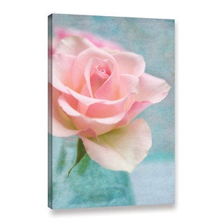 Cora Niele's ' Rose Blue' Gallery Wrapped Canvas