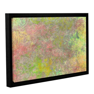 Cora Niele's ' Art Back 43' Gallery Wrapped Floater-framed Canvas