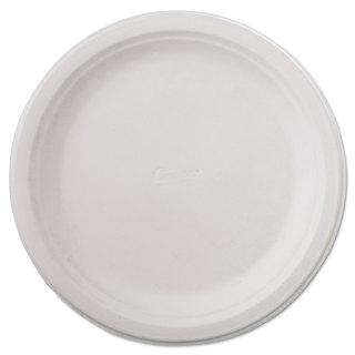 Chinet Classic Paper Dinnerware Plate 9 3/4-inch Diameter White 125/Pack 4 Packs/Carton