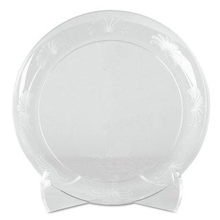 WNA Designerware Plates Plastic 6 inches Clear 180/Carton