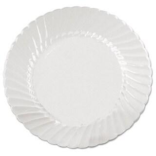 WNA Classicware Plates Plastic 6 in Clear 18/Bag 10 Bag/Carton