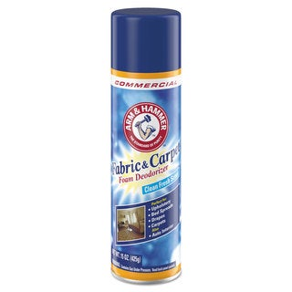 Arm & Hammer Fabric and Carpet Foam Deodorizer Fresh Scent 15-ounce Aerosol 8/Carton