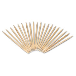 Royal Round Wood Toothpicks 2 3/4 inches Natural 19200/Carton