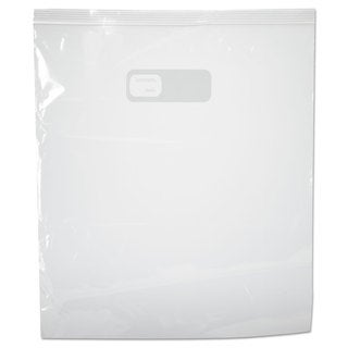 Boardwalk Reclosable Food Storage Bags 2 Gal Clear LDPE 13 x 15 100/Box