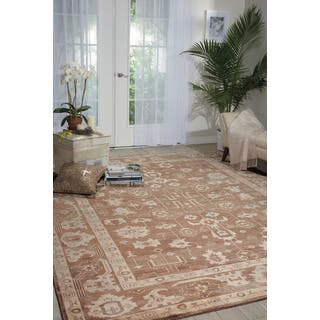 Nourison Aldora Mocha Area Rug (8'6x11'6)|https://ak1.ostkcdn.com/images/products/13912727/P20547216.jpg?impolicy=medium
