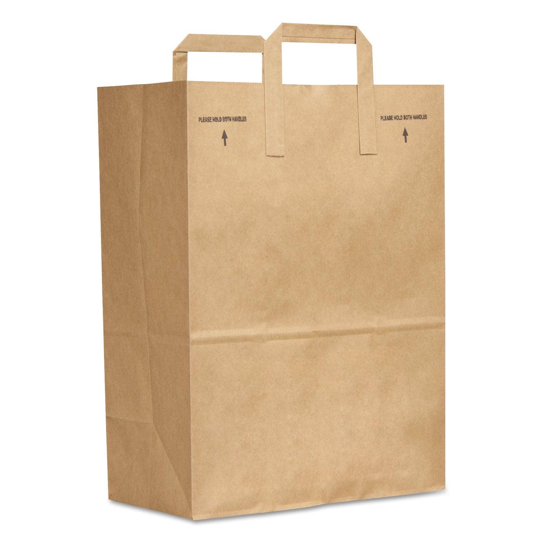 General 1/6 BBL Paper Grocery Bag 70-pound Kraft Standard...