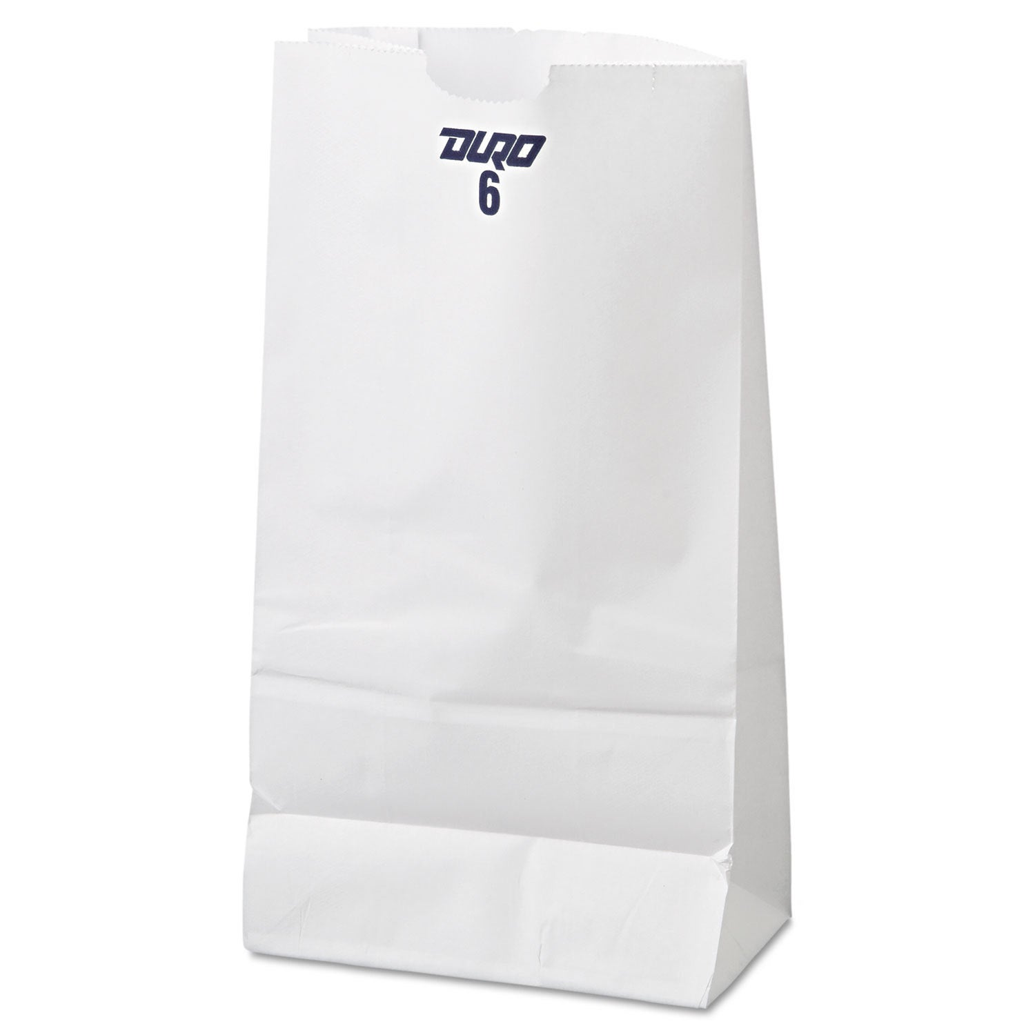 General 6 Paper Grocery Bag 35-pound White Standard 6 x 3...