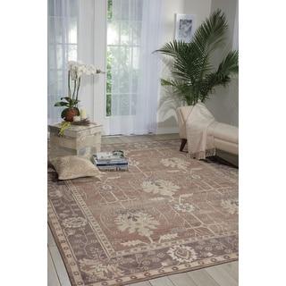 Nourison Aldora Opal/Grey Area Rug (8'6x11'6)