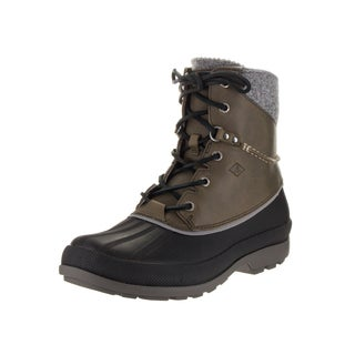 Sperry Top-Sider Men's Cold Bay Ice+ Grey Leather Boots