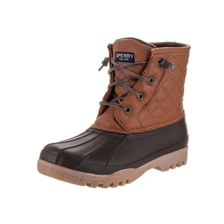 Sperry Women's Brown Rubber Gosling Shortie Boot