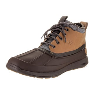 Sperry Top-Sider Men's Sajourn Brown Leather Duck Boots