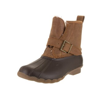 Sperry Top-Sider Women's Rip Brown Rubber Water Boots