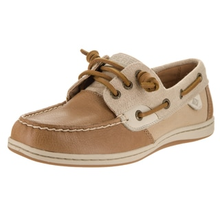 Sperry Top-sider Women's Songfish Waxy Brown Rubber Boat Shoes