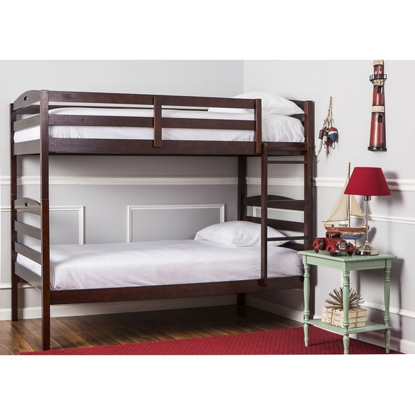Dream On Me Nova 2-in-1 Twin Over Twin Bunk Bed. Opens flyout.