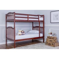 Dream On Me Cody 2-in-1 Twin Over Twin Bunk Bed
