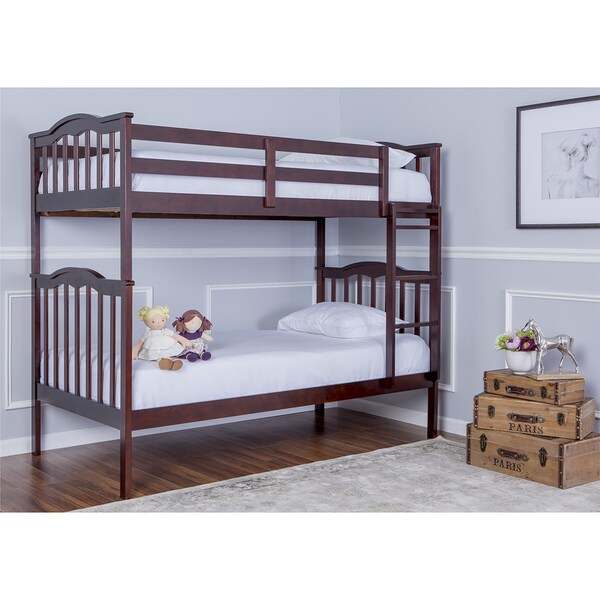 Dream On Me Cody 2-in-1 Twin Over Twin Bunk Bed. Opens flyout.