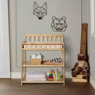 Dream On Me Ashton Natural Wood Changing table