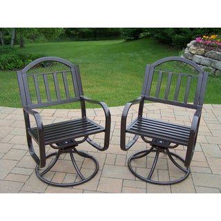 Hometown 2 Pack of Swivel Chairs