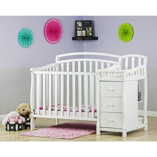Shop Dream On Me Casco 4 In 1 Mini Crib And Changing Table Free