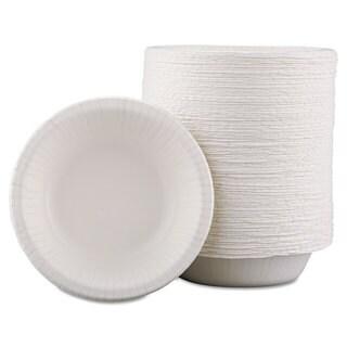 Dixie Basic Basic Paper Dinnerware Bowls 12-ounce White 1000/Carton