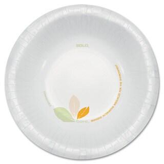 SOLO Cup Company Bare Paper Eco-Forward Dinnerware 12-ounce Bowl Green/Tan 500/Carton