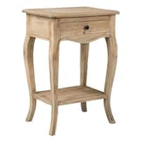 East At Main's Bishop Brown Rectangular Rubberwood Accent Table