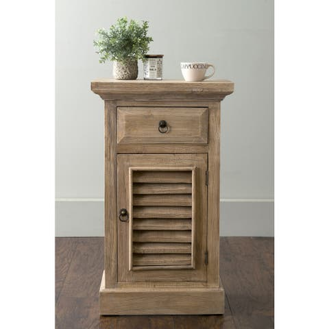 East at Main Benton Shutter Accent Table