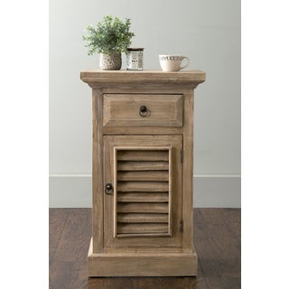East At Main's Tremont Brown Rectangular Rubberwood Accent Table