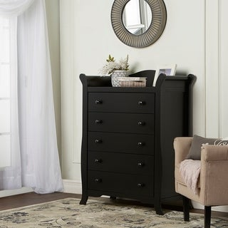 Dream On Me Alissa, 5 Drawer Sleigh Chest